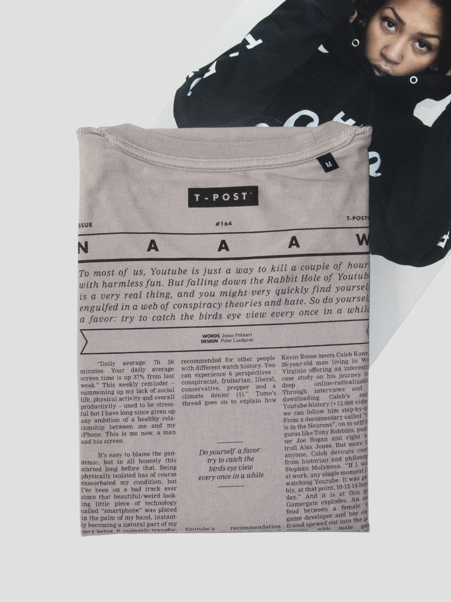 T-Post t-shirt issue 164